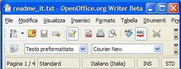OpenOffice 3.0 lancia la sua prima Beta