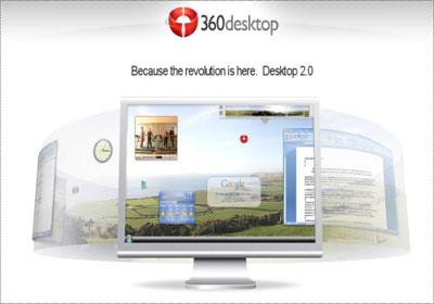 Un desktop più grande? Possibile con 360desktop!