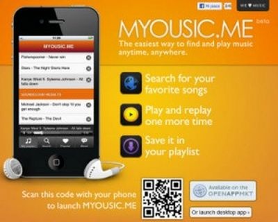 Player musicale innovativo: Myousic