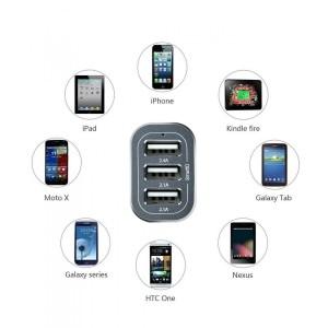 iClever® 6.6A 33W: recensione caricatore per auto a 3 porte USB
