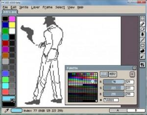ASE - Allegro Sprite Editor