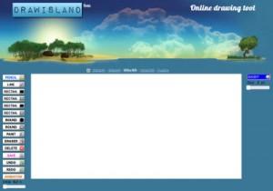 DrawIsland - creare animazioni online