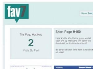 Fav7 - creare pagina condivisione