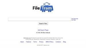 FileTram: Motore di ricerca per siti di file Sharing