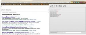eliminare spam dai risultati di ricerca