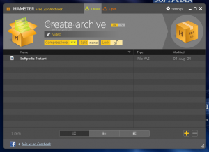 Hamster Zip Archivie: decomprimere file
