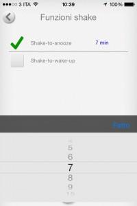 WhatAlarm: la sveglia parlante per l'iPhone si arricchisce dello shake e della registrazione dell'audio notturno