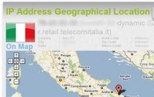 conoscere geolocalizzazione ip