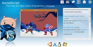 KonsolScript: creare videogame