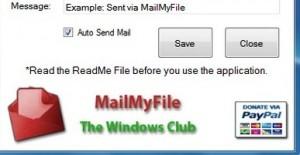 inviare mail da windows