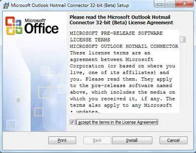 Outlook Hotmail Connector 14.10 download