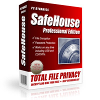 SafeHouse Professional Edition: protezione file
