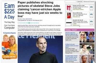 Steve Jobs in fase terminale?