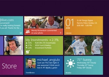 Analisi interfaccia Windows 8