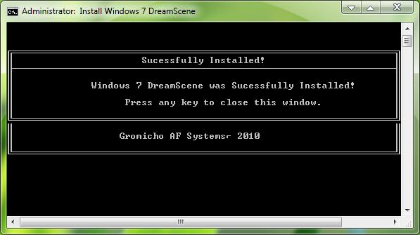 Windows 7 DreamScene