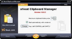Xneat Clipboard Manager