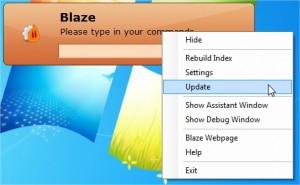 Blaze: ricercare programmi velocemente