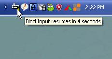 Bloccare tastiera e mouse con una password