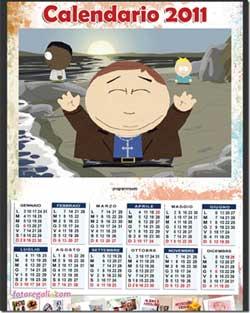 Calendario 2011 personalizzato