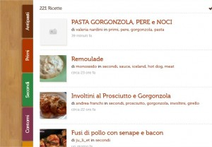 Recipefy: social network per appassionati di cucina
