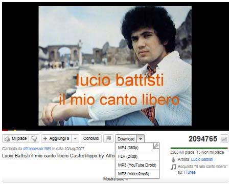 Estensione Chrome Youtube Downloader