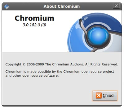 Download Google Chrome per Ubuntu pre-alpha