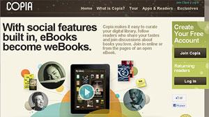 Nasce Copia: l'oasi degli eBook