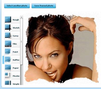 Creare cornici online stilegames for Foto cornici online