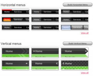 servizi per creare menu css online