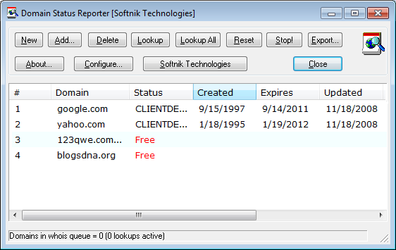 domain-status-reporter