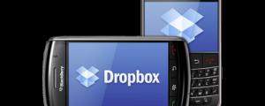 Applicazione Dropbox Blackberry