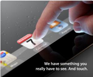 iPad 3 arriva il 7 marzo
