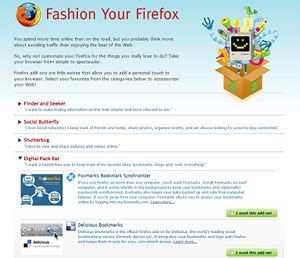 Rendete alla moda FireFox con Fashion FireFox!