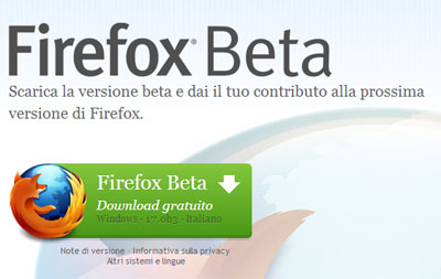 Firefox in collaborazione con Facebook
