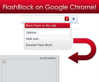 Google Chrome e blocco flash