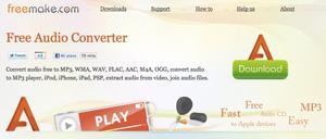 freemake free audio converter è un programma per convertire file audio da un formato ad un altro