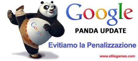 Google Panda: come evitare la penalizzazione
