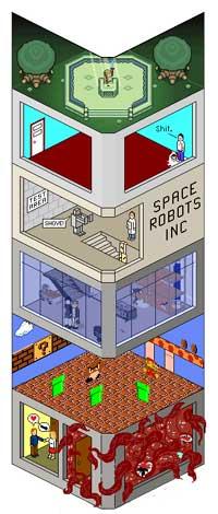Gun Tower: Un Grattacielo carico carico di...pixel!
