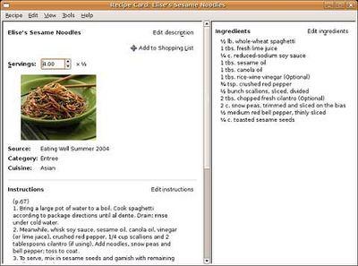 Volete gestire le vostre ricette al meglio? Scaricate subito Goumet Recipe Manager!
