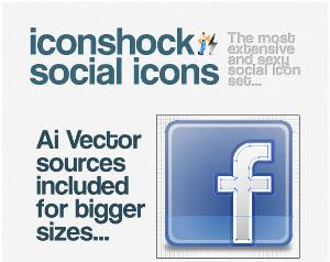 Iconshock Social Icons, tante icone a portata di click