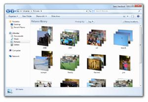 Alcune Immagini screenshot di Windows 7