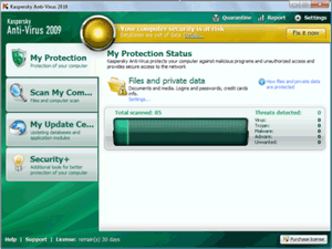 Kaspersky antivirus 2010 beta
