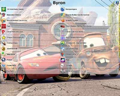 Interfaccia di Windows intuitiva e sicura per i bambini
