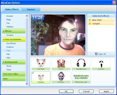 Manycam per Webcam