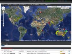 Edis mappa in tempo reale disastri