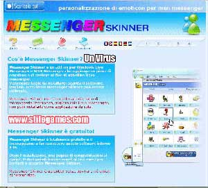 Messenger Skinner: Una truffa, un virus, un spyware
