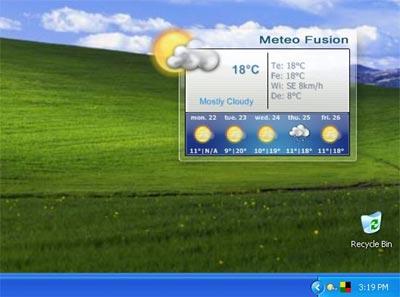 Previsioni meteo con MeteoFusion