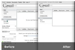 personalizzare account gmail