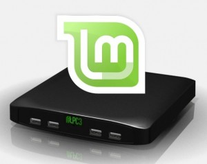 il mini pc con Linux Mint