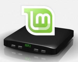 il mini pc con Linux Mint